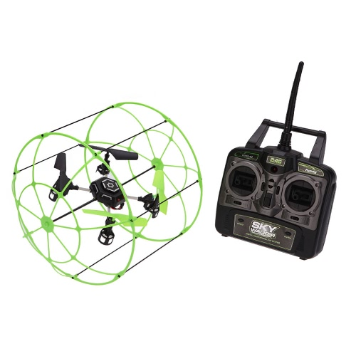 Sky Walker Matrix 1306 4-CH RC Quadcopter Climbing Wall Helicopter Running on the floor Climbing on the Wall