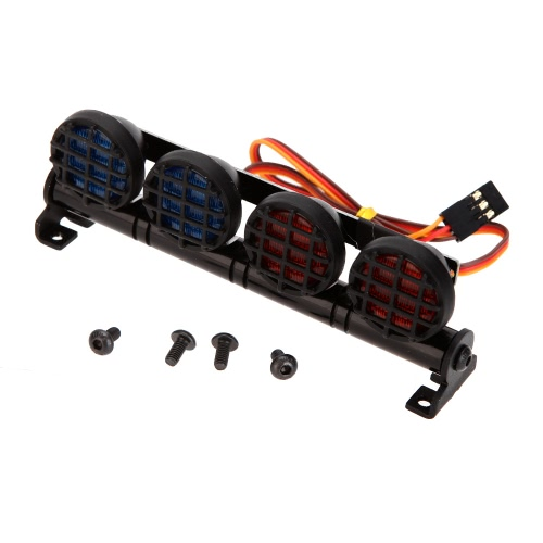 AX-506W Multi-function Ultra Bright LED Lamp for 1/10 1/8 RC HSP Traxxas TAMIYA CC01 4WD Axial SCX10 Model Car