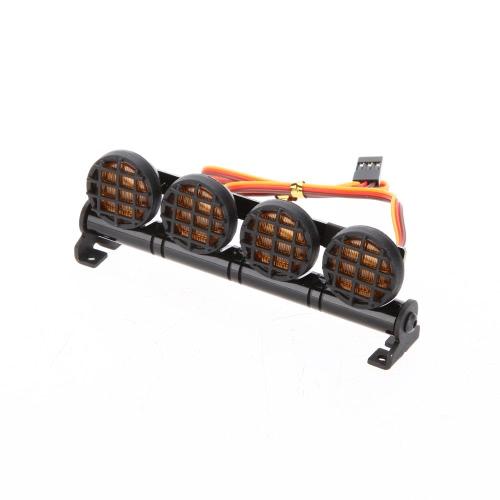 AX-506Y wielofunkcyjna ultralekka lampa LED do 1/10 1/8 RC HSP Traxxas TAMIYA CC01 4WD Axial SCX10 Model samochodu