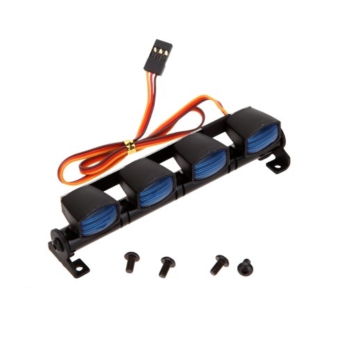 AX-505W Многофункциональная ультраяркая светодиодная лампа для 1/10 1/8 RC HSP Traxxas TAMIYA CC01 4WD Axial SCX10 Model Car