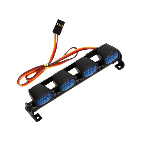 AX-505W Multi-function Ultra Bright LED Lamp for 1/10 1/8 RC HSP Traxxas TAMIYA CC01 4WD Axial SCX10 Model Car