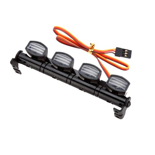 AX-505W 1/10 1/8 RC HSP Traxxas用多機能超高輝度LEDランプTAMIYA CC01 4WDアキシャルSCX10モデルカー