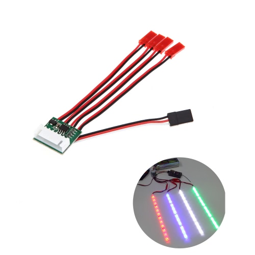 Kontroler 6S LED Light Strip Controller dla Quadcopter X-Copter Hexacopter
