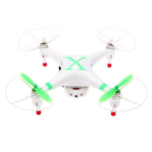 Cheerson CX-30W 2.4GHz 4CH 6-Axis Gyro WiFi Vídeo em tempo real RC Quadcopter UFO FPV com câmera 0.3MP HD sem transmissor