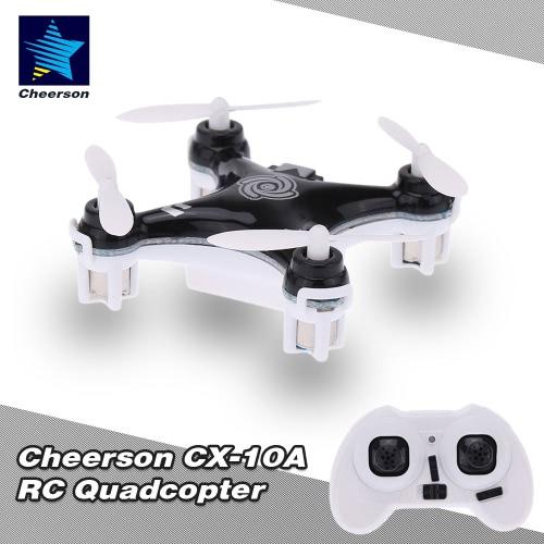 ヘッドレスモード付   Cheerson CX-10A2.4GHz 4CH RCクアッドコプターNANOドローンUFO