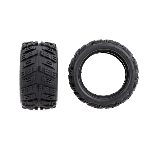Yikong Parts 18057 Rubber Tire and Firm for 1/18 Monster RC Model Cars