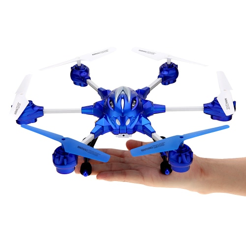 HUAJUN W609-10 4.5CH 2.4G with Six Axis Gyro 360° Rotating RTF RC Hexacopter Drone UFO(Middle Size)With 0.3MP Camera