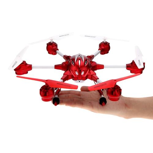 HUAJUN W609-10 4.5CH 4.5チャンネル 2.4G 六軸ジャイロ 360°回転 RTF RC ラジコン 超合金 ヘキサコプター 飛行機 航空機 マルチコプター ドローン UAV UFO(ミドルサイズ)  0.3MP 30万ピクセル カメラ付【並行輸入品】