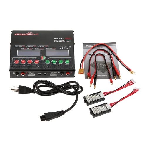ウルトラパワー UP120AC DUO  120W / 120W  LiIo /LiPo/LiFe/ニッル水素/ニッカドバッテリー  マルチバランス充電器/放電器