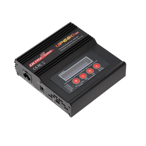 Ultra Power UP680AC 80W LiIo / LiPo / LiFe / NiMH / NiCD Batterie Multi Balance Chargeur / Déchargeur