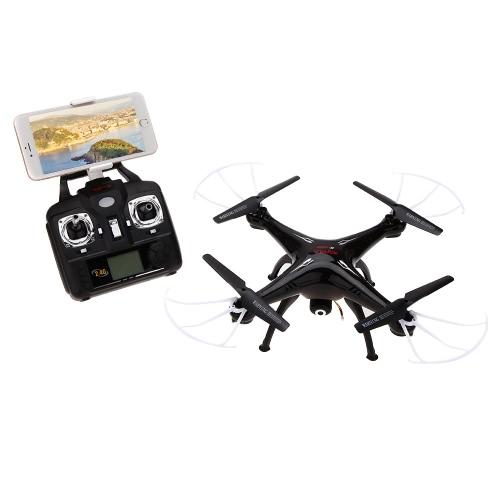 Syma X5SW 4CH 2.4G 6 ejes Gyro RC WiFi FPV Quadcopter con cámara de 0.3MP