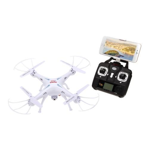 SYMA X5SW 4CH 2.4G 6-asse giroscopio RC Wifi FPV Quadcopter con 0.3 MP macchina fotografica