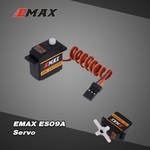 EMAX ES09A Plastic Analog Swash Servo for RC 450 Helicopter