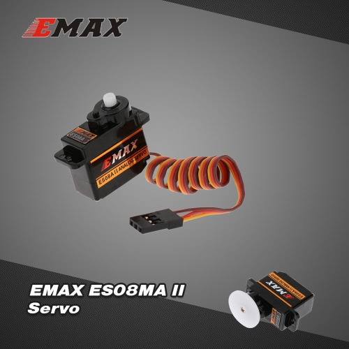 EMAX ES08A II Plastic Analog Servo for RC Helicopter Airplane