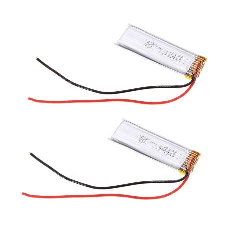 2 pz WLtoys V686G parte V686-28 batteria originale per Display LCD schermo per JJRC/WLtoys V686G RC Quadcopter FPV
