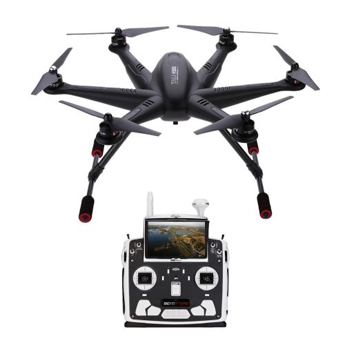 Original Walkera TALI H500 RTF FPV Quadcopter G-3D Gimbal iLook+ Camera IMAX B6 Charger DEVO F12E Transmitter w/extra Body Shell