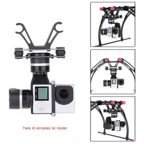 Feiyu Tech Neue Version 3-Achsen Mini Brushless 3D Gimbal für GoPro Hero 3 3+ Gopro Hero 4 Aerial Photograrhy