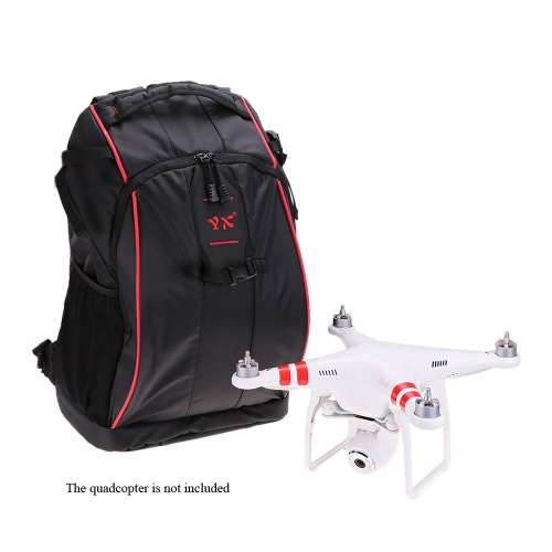 350 Fashionable Black Radio Control Hobby Travel Nylon Shoulder Bag Backpack for DJI Phantom 1 / 2 / 2 Vision / 2 Vision+/3 Walkera X350 CX-20 Quadcopter