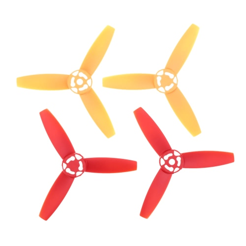 GoolRC Main 3-Blade Propeller Rotor Proppellers Part pour Parrot Bebop Drone 3.0 Rouge Jaune