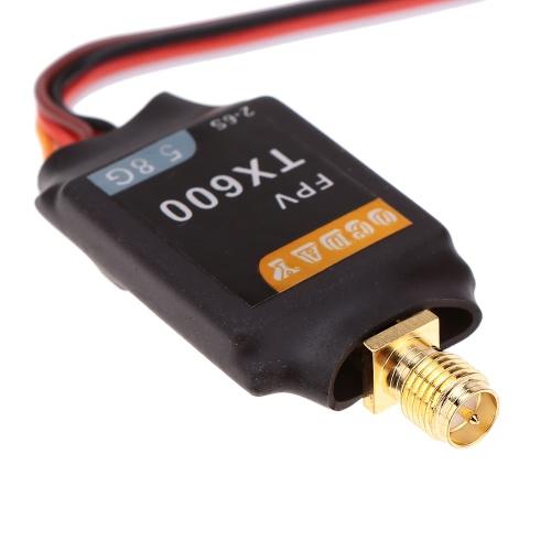 Mini TX600 5,8 G 600MW connettore RP-SMA-K Video trasmettitore TX 32CH trasmissione Video per FPV