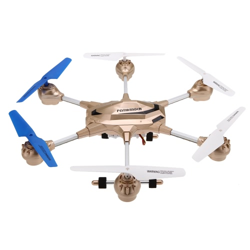 HUAJUN W609-9 4.5CH 2.4G with Six Axis Gyro RTF RC Super Alloy Hexacopter Drone(Middle Size)With 2.0MP HD Camera