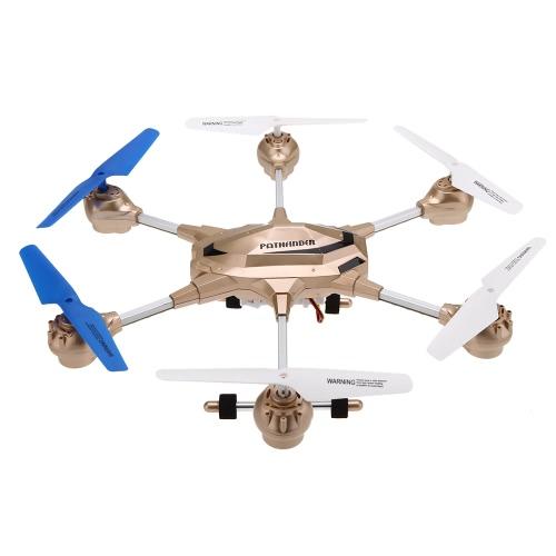 Huajun W609-9 4.5CH 2.4G z Six Axis Gyro RTF RC Super Alloy Hexacopter Drone (średniej wielkości) Z 2.0MP kamera