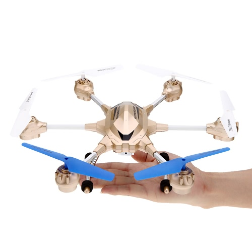 HUAJUN W609-9 4.5CH 2.4G with Six Axis Gyro RTF RC Super Alloy Hexacopter Drone£¨Middle Size£©With 2.0MP HD Camera Image