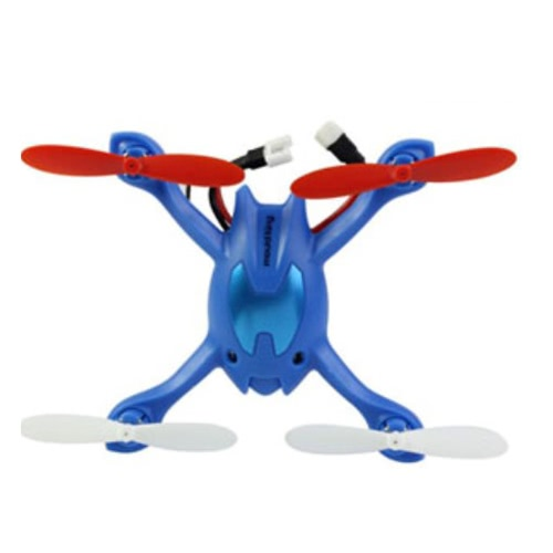 Mini 2.4G 4 Channel 6AXIS Gyro RC Quad Copter Helicopter 3D Rolling LCD Remote Control Blue Image