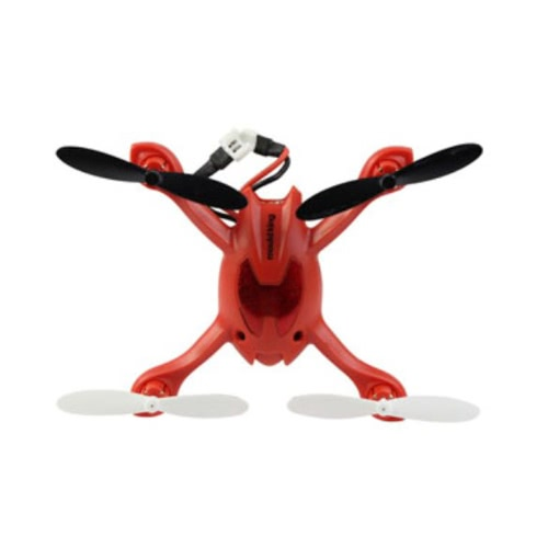 Mini 2.4G 4 kanałowy 6AXIS RC Quad copter 3D Rolling LCD Pilot Gyro Red