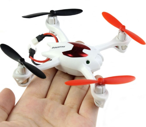 Mini 2.4G 4 Channel 6AXIS Gyro 3D Rolling LCD Remote Control Quad Copter Helicopter Aircraft White RM316W