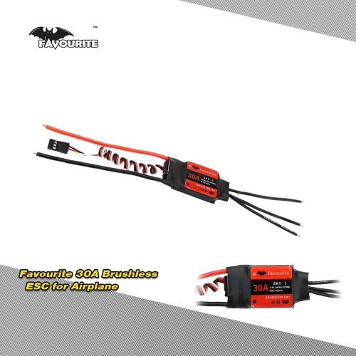 Favourite  SKYI series 30A 2~3S LiPo Battery Brushless Motor Electronic Speed Controller ESC with 5V/2A Linear Mode BEC for RC Fixed Wing Airplane