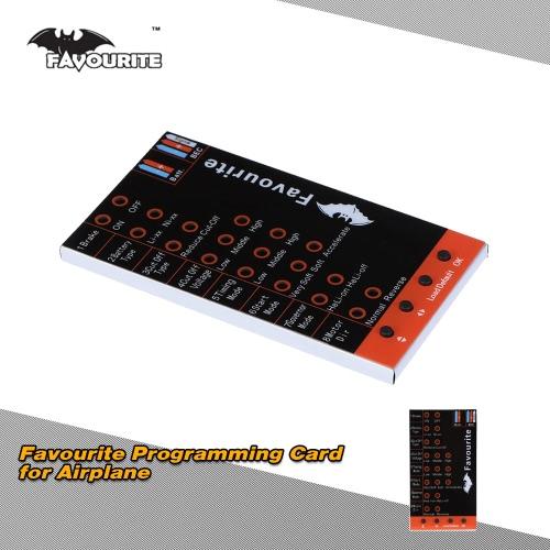 Favourite Sky 1 Series LED Programming Card for Brushless Airplane ESC