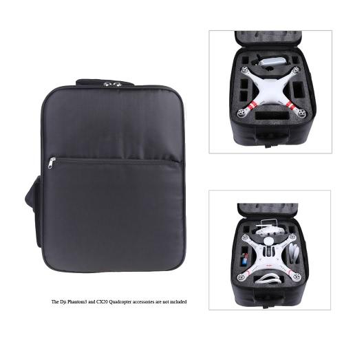 Universal Waterproof Outdoor Portable Quadcopter Shoulder Backpack Bag Carry Case for DJI Phantom 3 Quadcopter  CX-20 Quadcopter