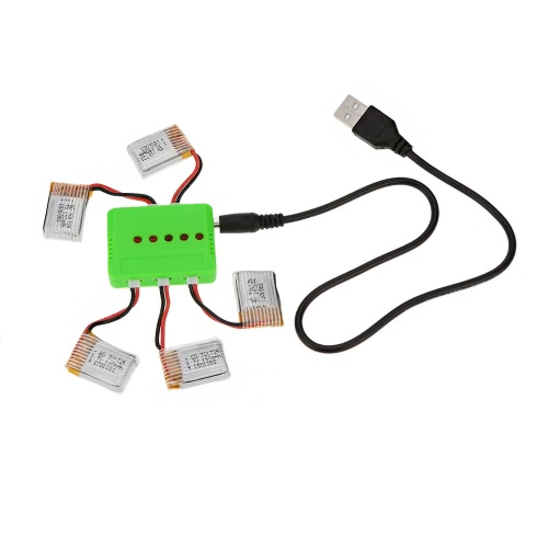 Original RC Part JJRC H8 3.7V 150mAh Mini Lipo Battery and Charger for RC H8 Mini Quadcopter