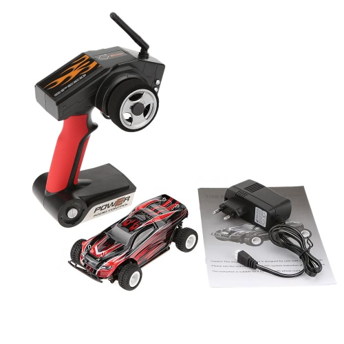 Original WLtoys P939 1:28 2.4G 4CH RTR Off-Road Remote Control RC Car High-speed 30km/h Alloy Chassis Structure