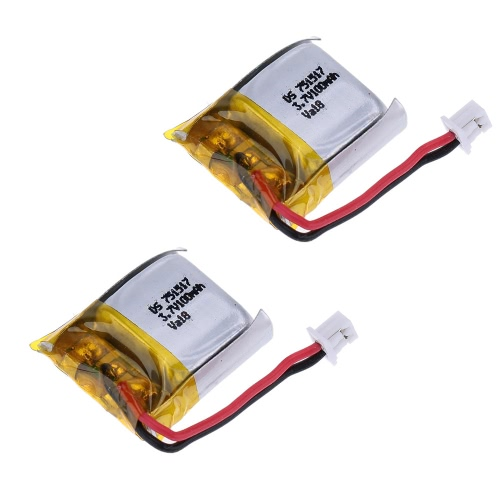 Original Cheerson CX-10 RC parte 3.7V 100mAh batería de Lipo CX-10-002(VA18) para Cheerson CX-10 Hubsan H111 RC Quadcopter
