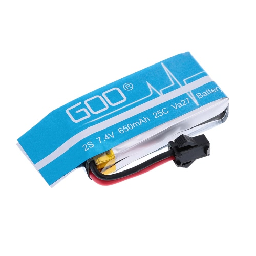 Upgrade RC Part 7.4V 650mAh Lipo Battery H8C-10(650)VA27A for JJRC H8C H8D RC Quadcopter