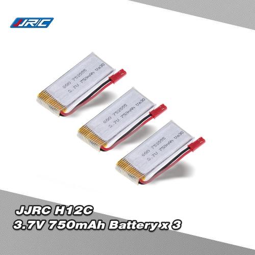 Original JJRC H12C RC Part 3.7V 750mAh Lipo Battery H12C-10(VA30) for JJRC H12C RC Quadcopter