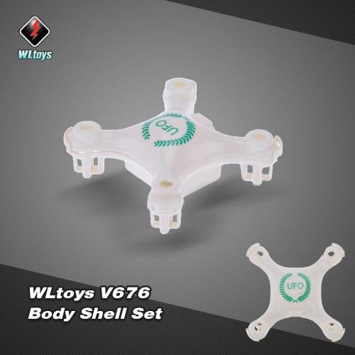 Oryginalny Wltoys V676 RC Część Quadcopter ciała Shell Set V676-01 i V676-02 dla WLtoys V676 RC Quadcopter