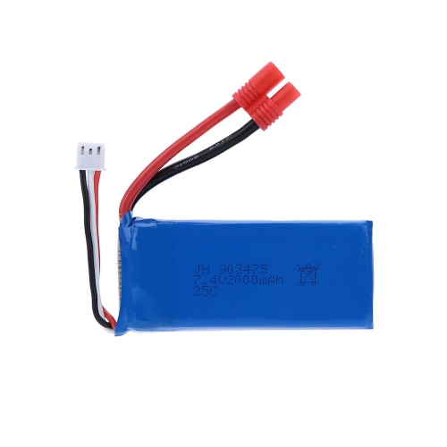 RC Part 7.4V 2000mAh 25C Lipo Battery(Banana Plug) for Syma X8C RC Quadcopter