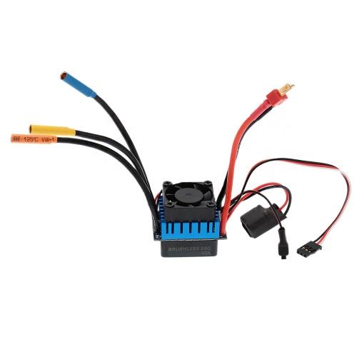 Regolatore di velocità Brushless ESC elettrico 45A con 5.8 v / 3A SBEC per 1/10 RC auto