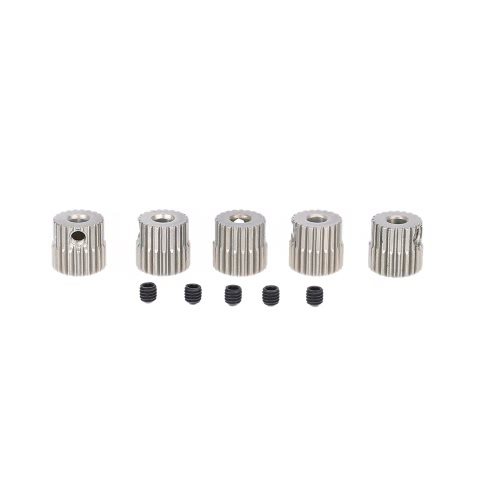 5pcs 64DP 21T Pinion Motor Gear for RC Car Brushed Brushless Motor