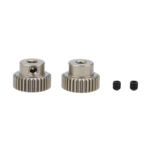 2pcs 64DP 30T Pinion Motor Gear for RC Car Brushed Brushless Motor