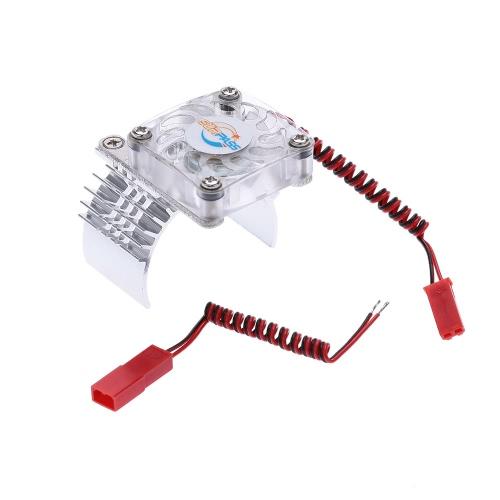Dissipador de calor del motor con el ventilador de enfriamiento para el coche de competición de 1/10 RC