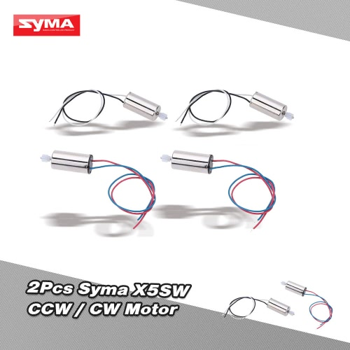 2ペア オリジナル SYMA X5SW RC パーツCW/CCW 時計回り/反時計回り モーター   X5SW/X5SC RC ラジコン クアッドコプター マルチコプター ドローン用【並行輸入品】