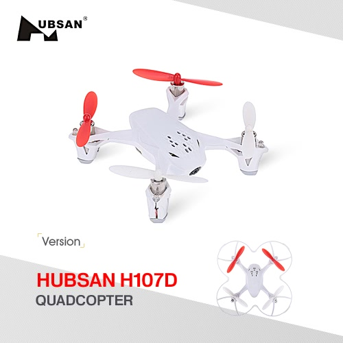 Original Hubsan X4 H107D RC Mini 6-Achsen-System Quadcopter BNF Version