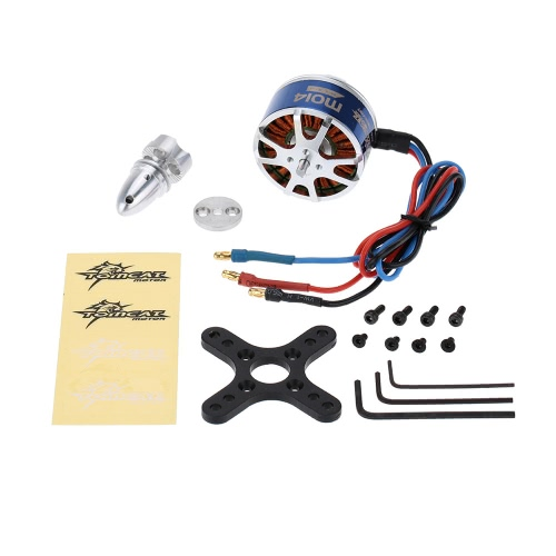 TOMCAT TC-M-4614-KV410 9T Brushless Outrunner Motor for RC Airplane