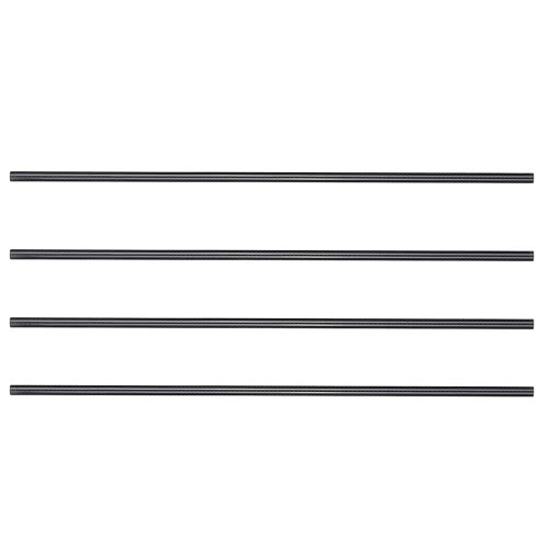 4Pcs/set DIY 10*8*500mm Vanished Surface 3K Semi Glass Fiber Semi Carbon Fiber Tube for RC Quadcopter Multicoptor