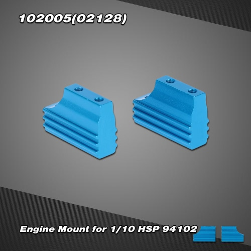 102005(02128) Upgrade Part Alumimum Alloy Engine Mount for 1/10 HSP 94102 Nitro On-road Touring Car