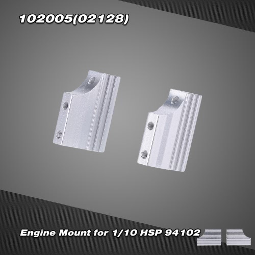 102005(02128) Upgrade Part Alumimum Alloy Engine Mount for 1/10 HSP 94102 Nitro On-road Touring Car